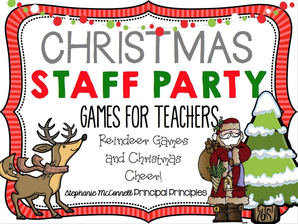 Ideas For Staff Christmas Party Part - 35: Christmas Staff Party For Teachers And Staff; Reindeer Games And Christmas  Cheer!