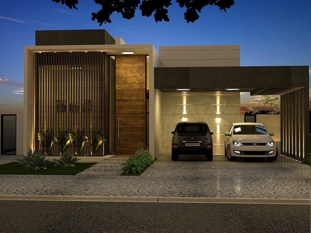 Projeto de uma casa contempor nea no alphaville ribeir o for Casa contemporanea