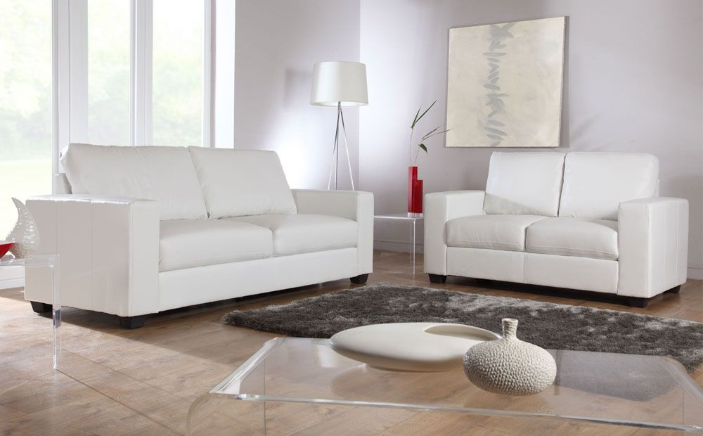 Mission Ivory Leather Sofas At Furniture Choice From 249 99