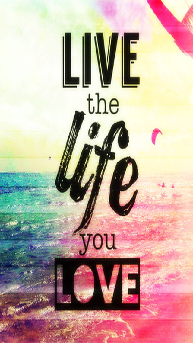 Wallpaper comments Love Life : Tap image for more iPhone quote wallpapers! live - mobile9 Inspiring quotes, quotes about life ...