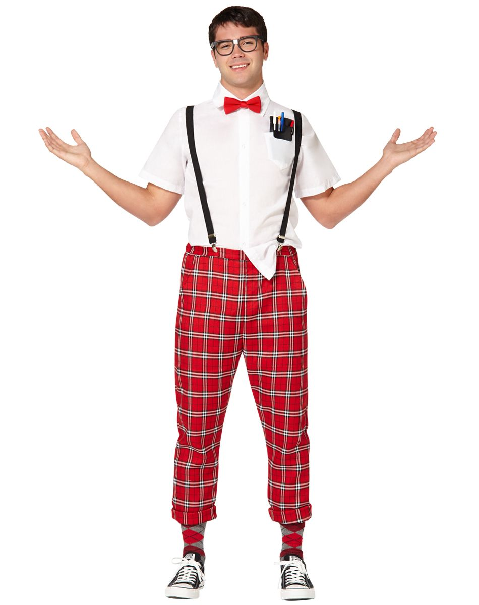 Hipster Nerd Adult Mens Costume exclusively at Spirit Halloween ...