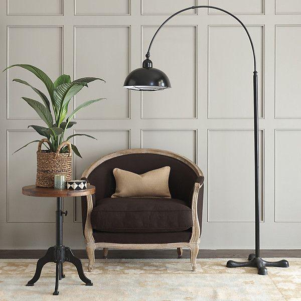 Ballard Designs Brooklyn Floor Lamp 249 Liked On Polyvore Featuring Home Lighting Lamps Mid Century Modern Midcentury