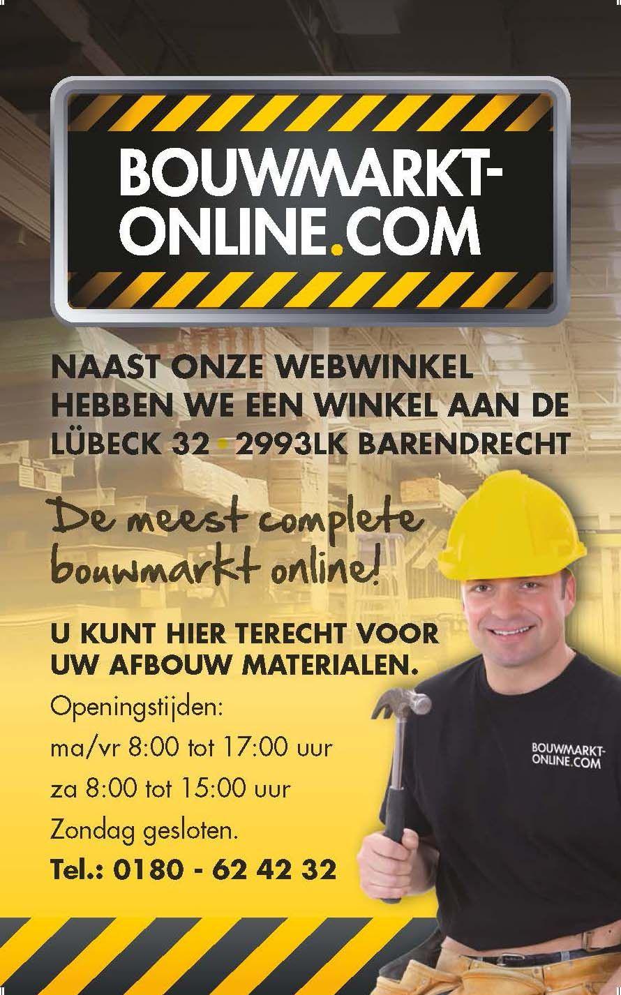 De meest complete bouwmarkt online!
