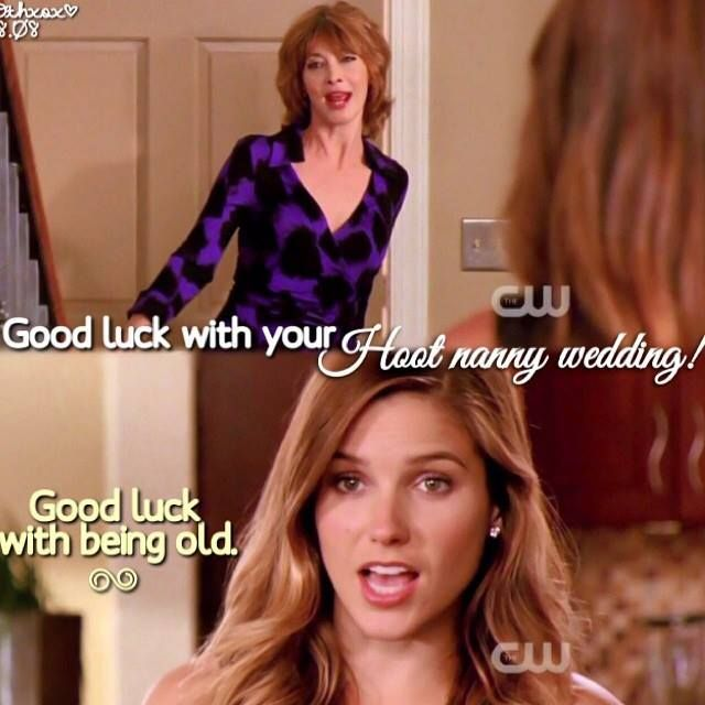 Sylvia Brooke S Relationship Was One Of The Funniest One Tree Hill One Tree Hill Quotes People