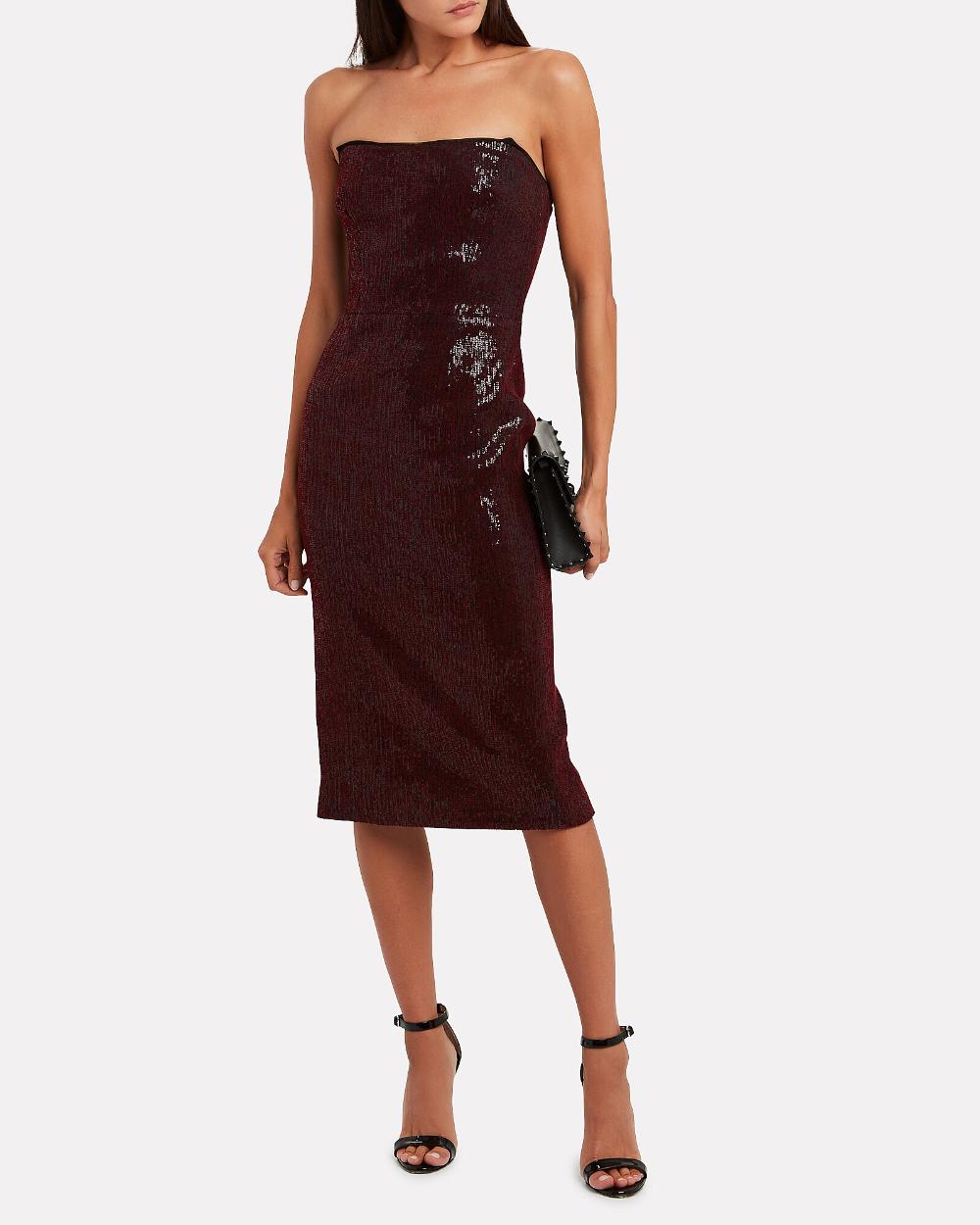 Martina Strapless Sequin Dress Dresses Strapless Sequin Dress Sequin Dress [ 1250 x 1000 Pixel ]
