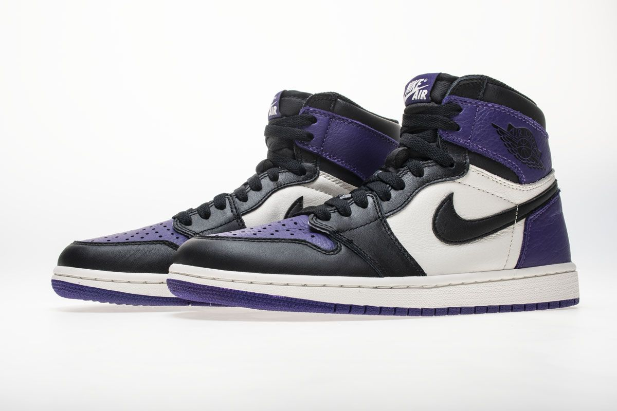 Air Jordan 1 OG High Retro Court Purple 555088501
