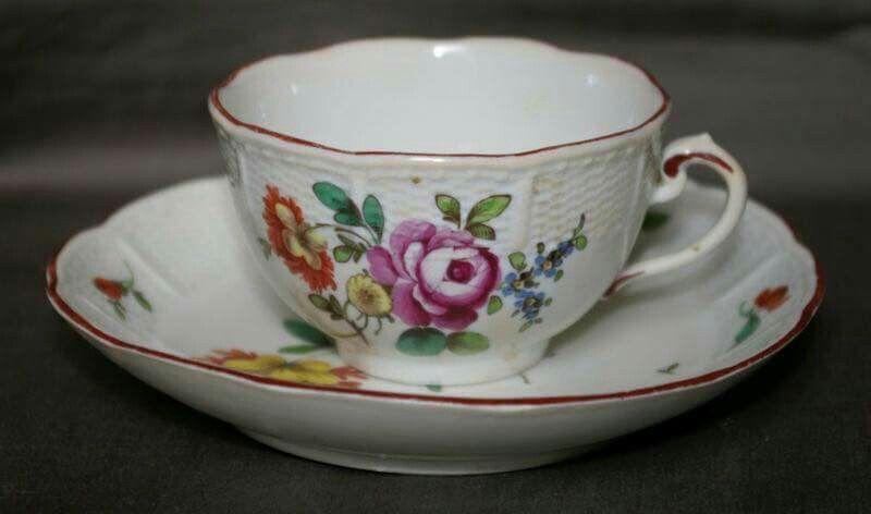 ludwigsburg hand painted porcelain. Black Bedroom Furniture Sets. Home Design Ideas