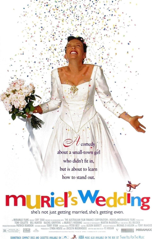 Muriel's Wedding (1994) Wedding movies, Muriel's wedding