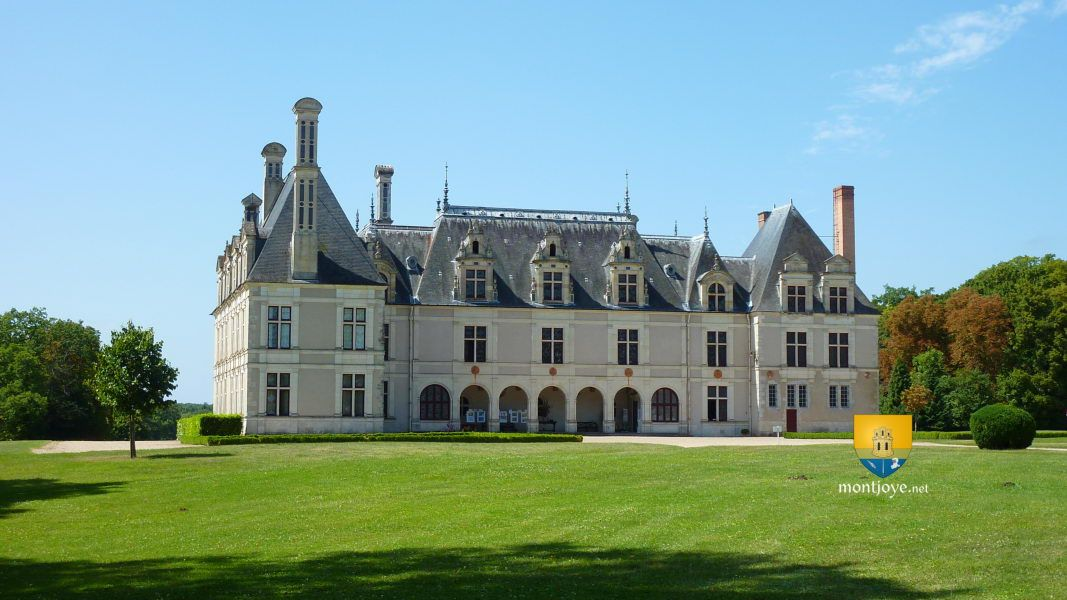 Le château de Beauregard est situé dans la commune de Cellettes dans
