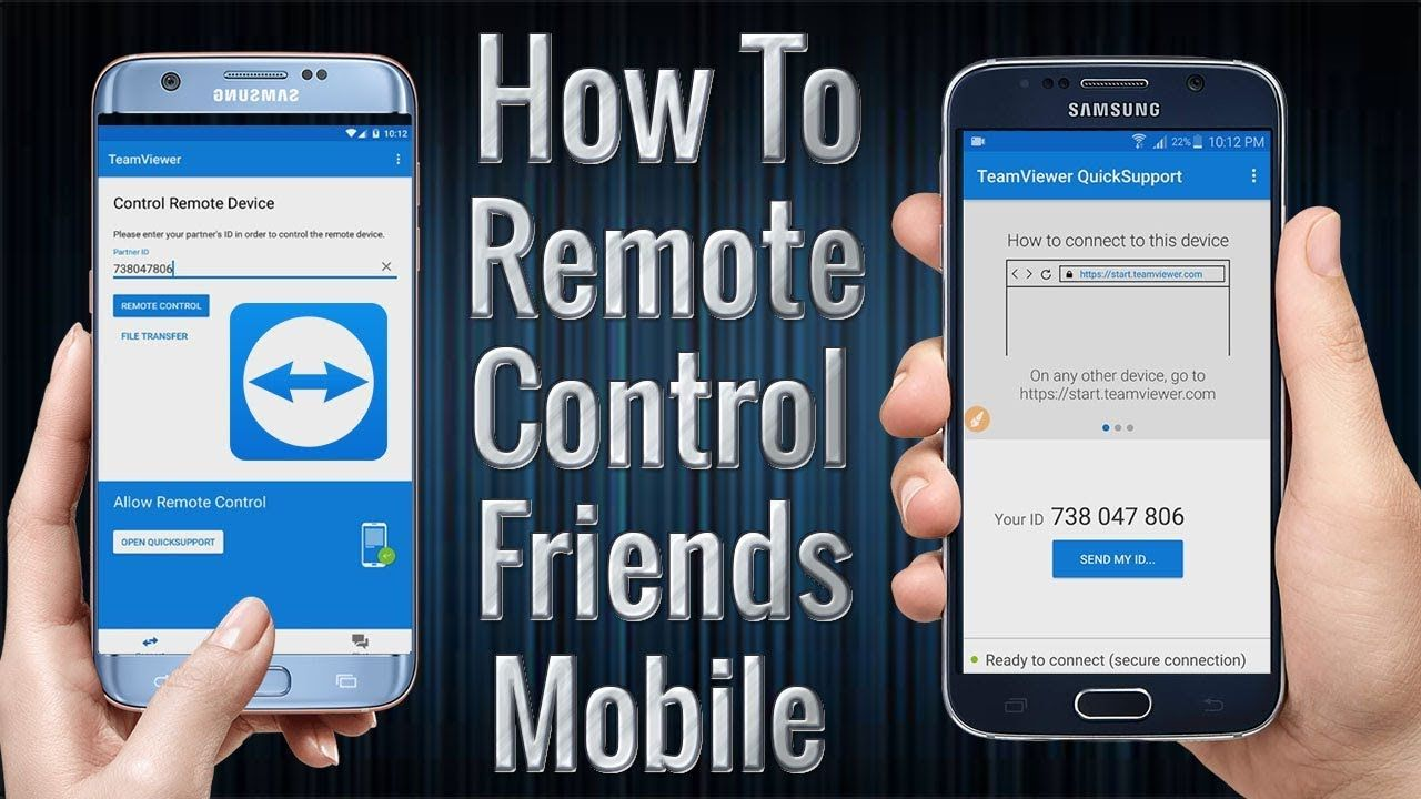 How to Control your Friends Mobile using your Mobile