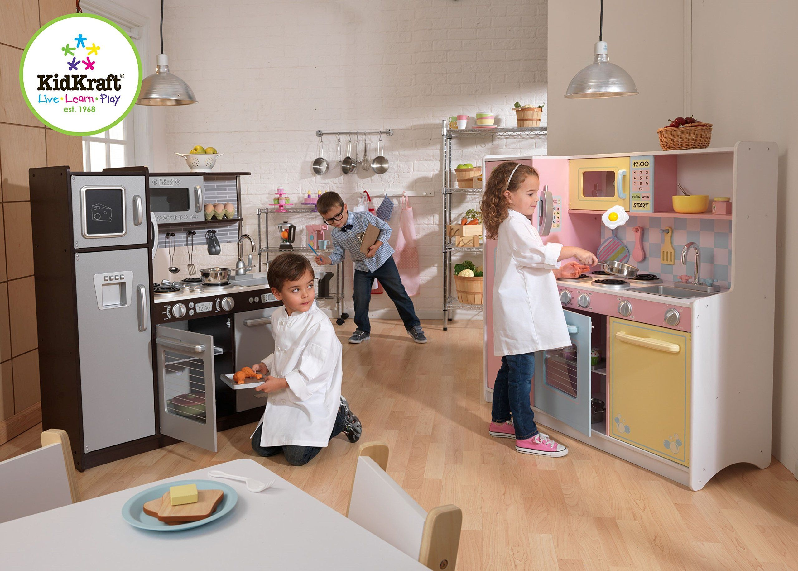 KidKraft Uptown Espresso Kitchen ** Click on the image for ...