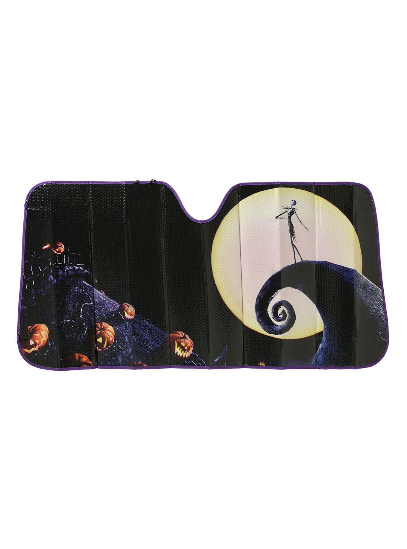 The Nightmare Before Christmas Movie Poster Accordion Sunshade ...