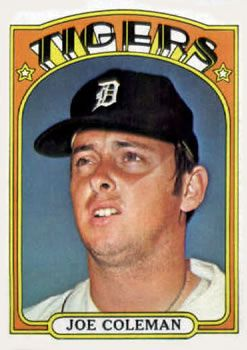 640 - Joe Coleman - Detroit Tigers