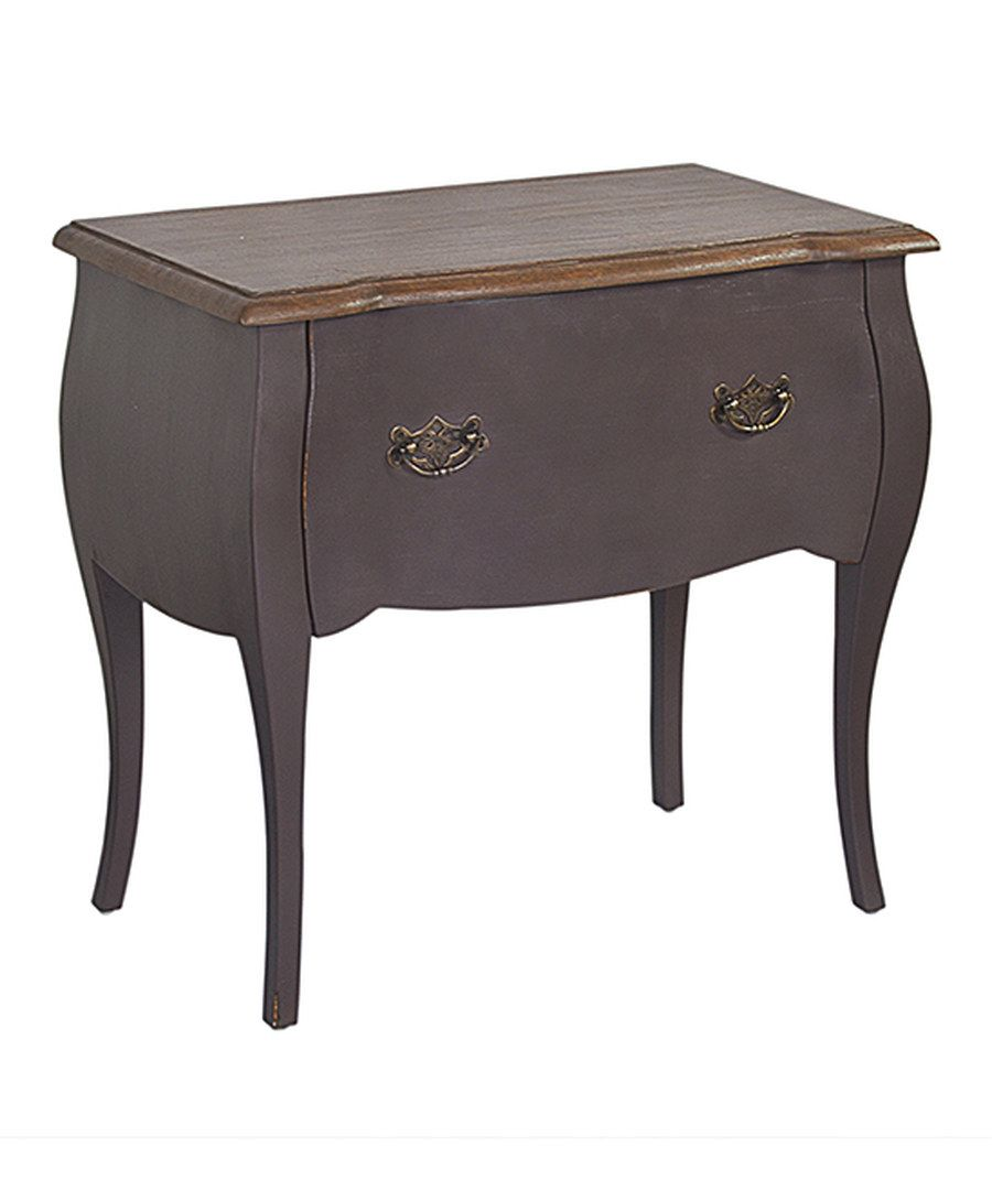 Look at this Dark Brown Tiffany Console Table on #zulily today!