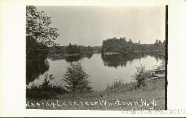 Wm Town NY Kasoag Lake
