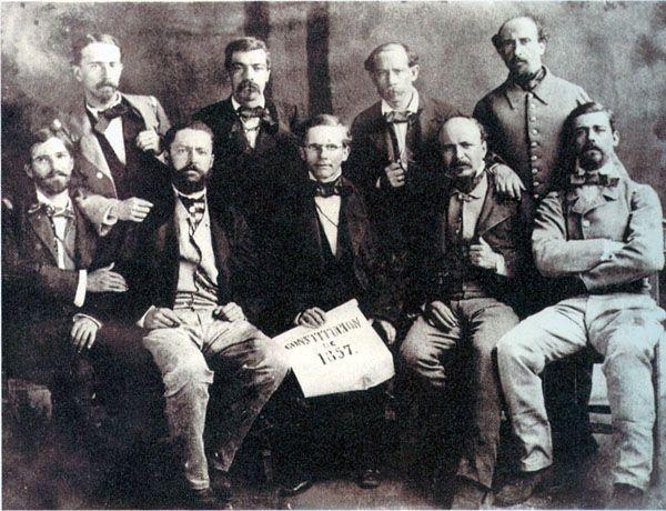 constitucion 1857 dibujo  Buscar con Google  historia mexicana