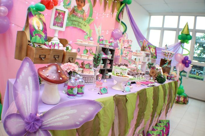 Tinkerbell Themed Birthday Party with Tons of really Cute Ideas