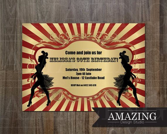 Party Invitation Personalized