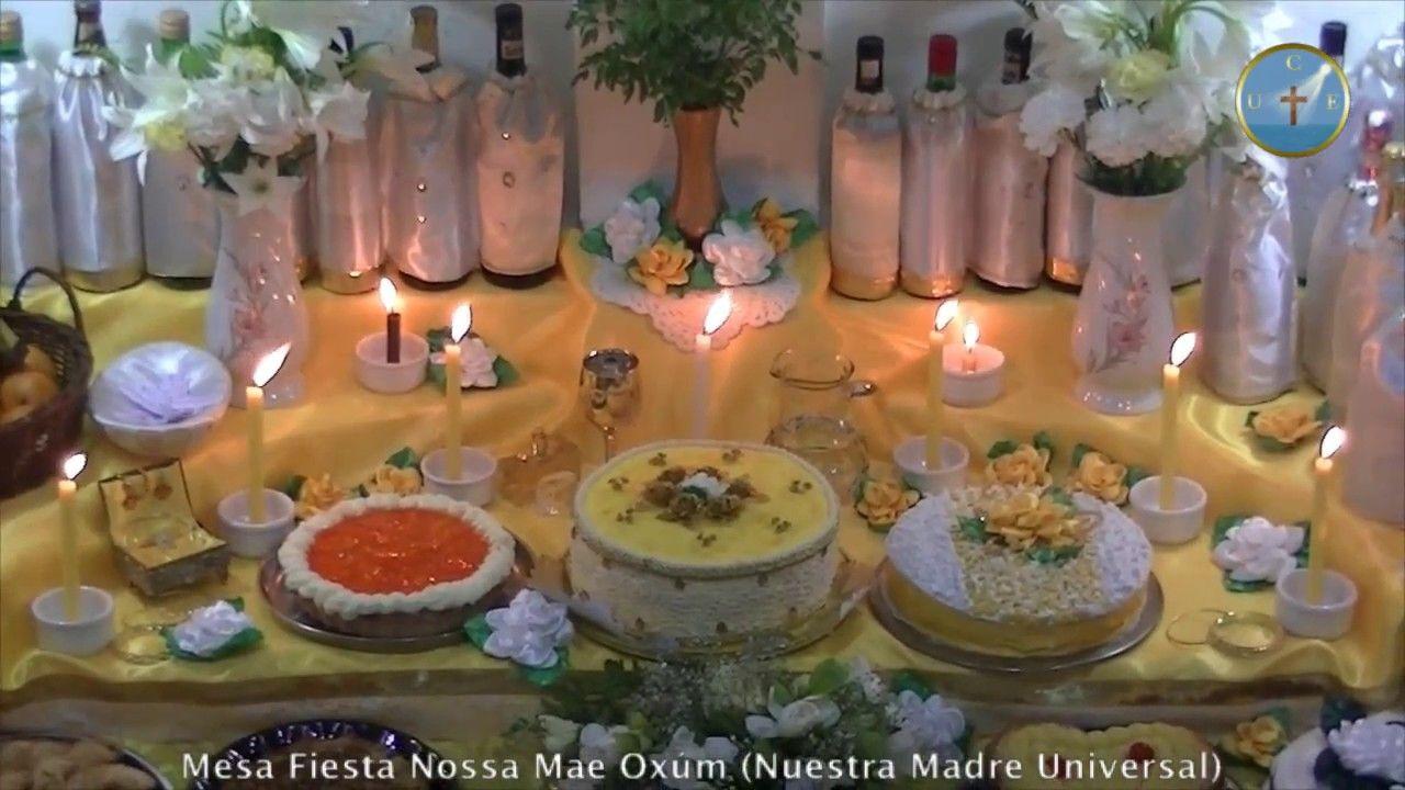 Llegada Pai Ogum 7 Ondas - Fiesta Mae Oxúm (08-12-16) | mesas dulces ...