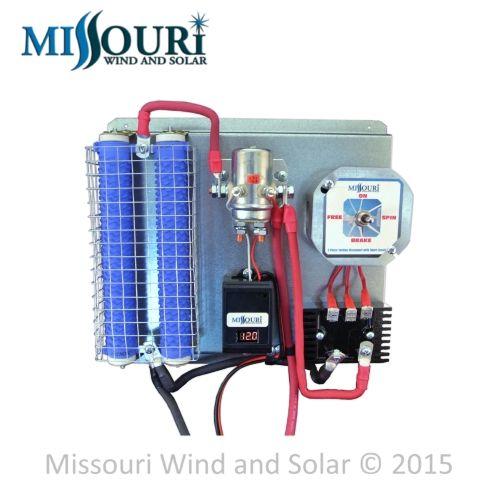 880 AMP digital battery wind turbine solar panel controller 24 volt DC GEN 4