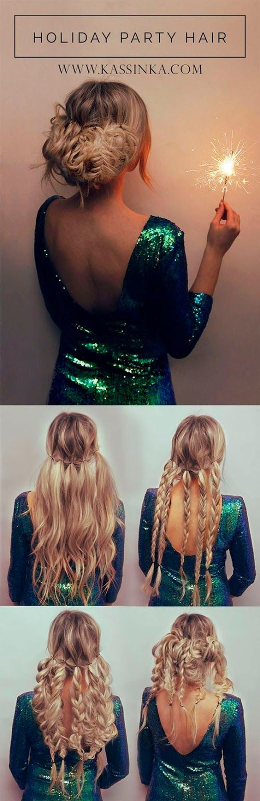 Preparing for the holidays best hairstyles and outfits