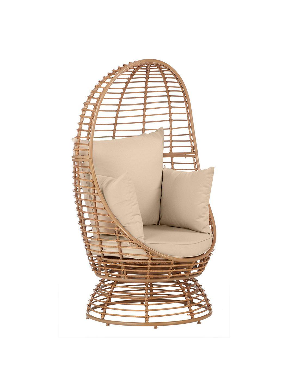 John Lewis & Partners Cabana Swivel Pod Garden Chair ...