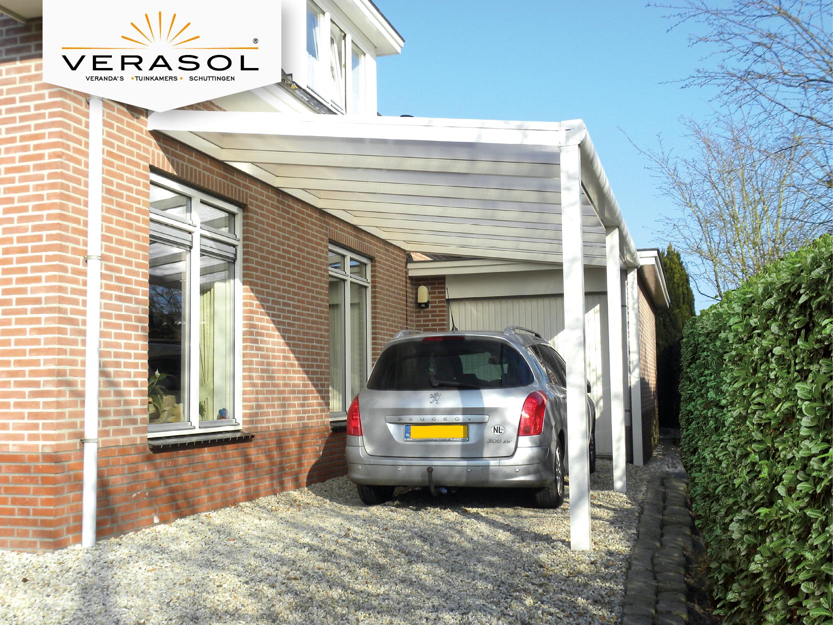 Closing in a carport to make guest suite - Verasol Carport