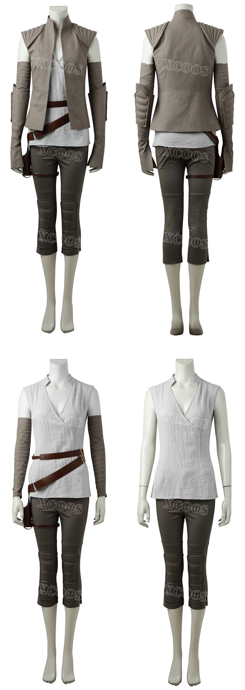 star wars 8 the last jedi rey tailored outfit kost m. Black Bedroom Furniture Sets. Home Design Ideas