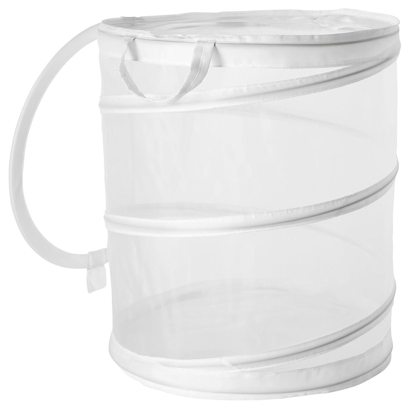 Fyllen Laundry Basket White 21 Gallon With Images Ikea