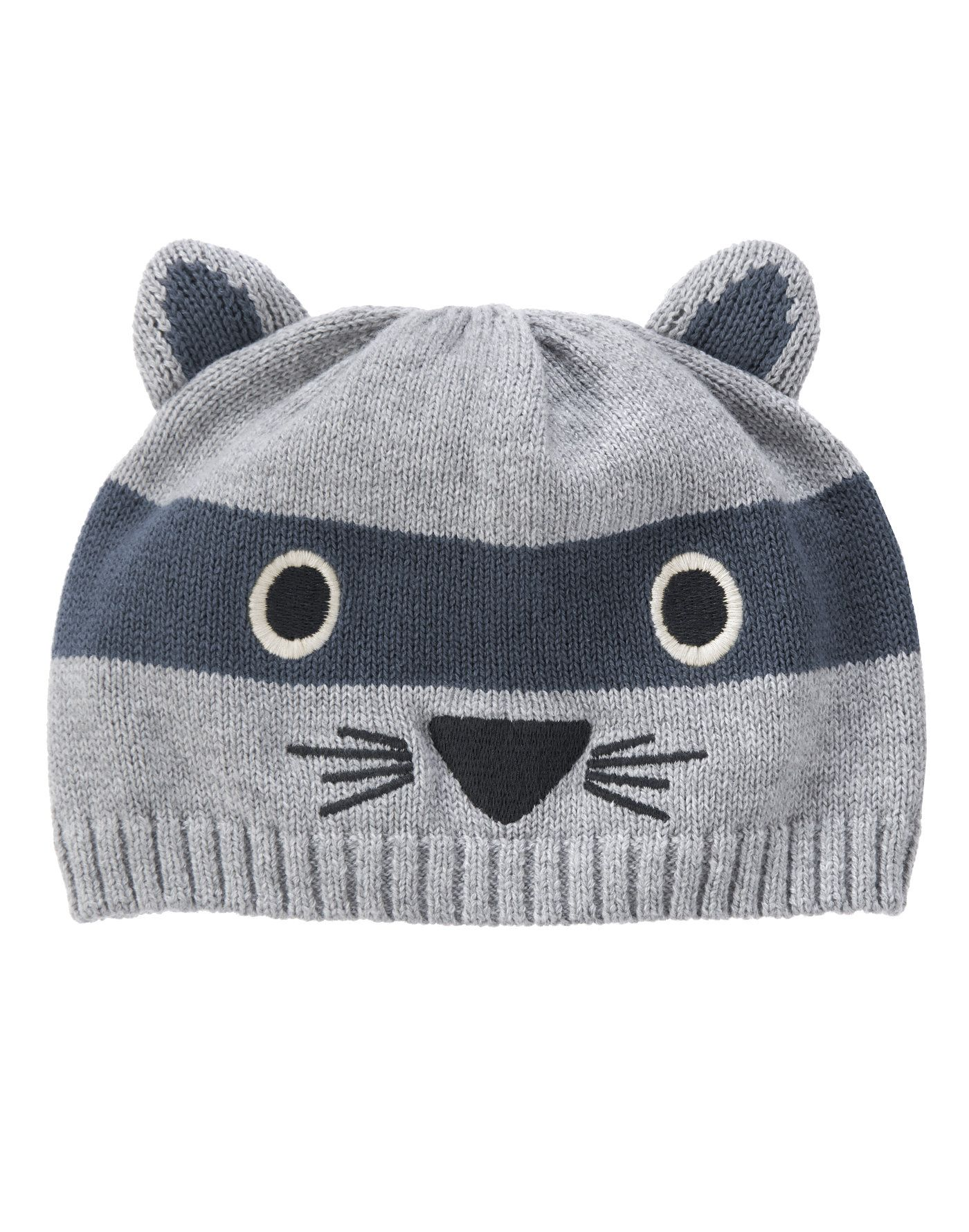 Raccoon Sweater Hat at Gymboree