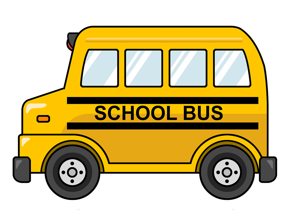 Image result for school bus clipart