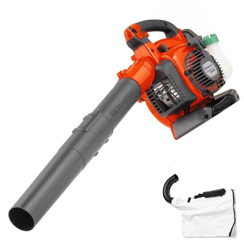 Husqvarna 125bvx Leaf Blower Vacuum Blowers Husqvarna Leaf Blower