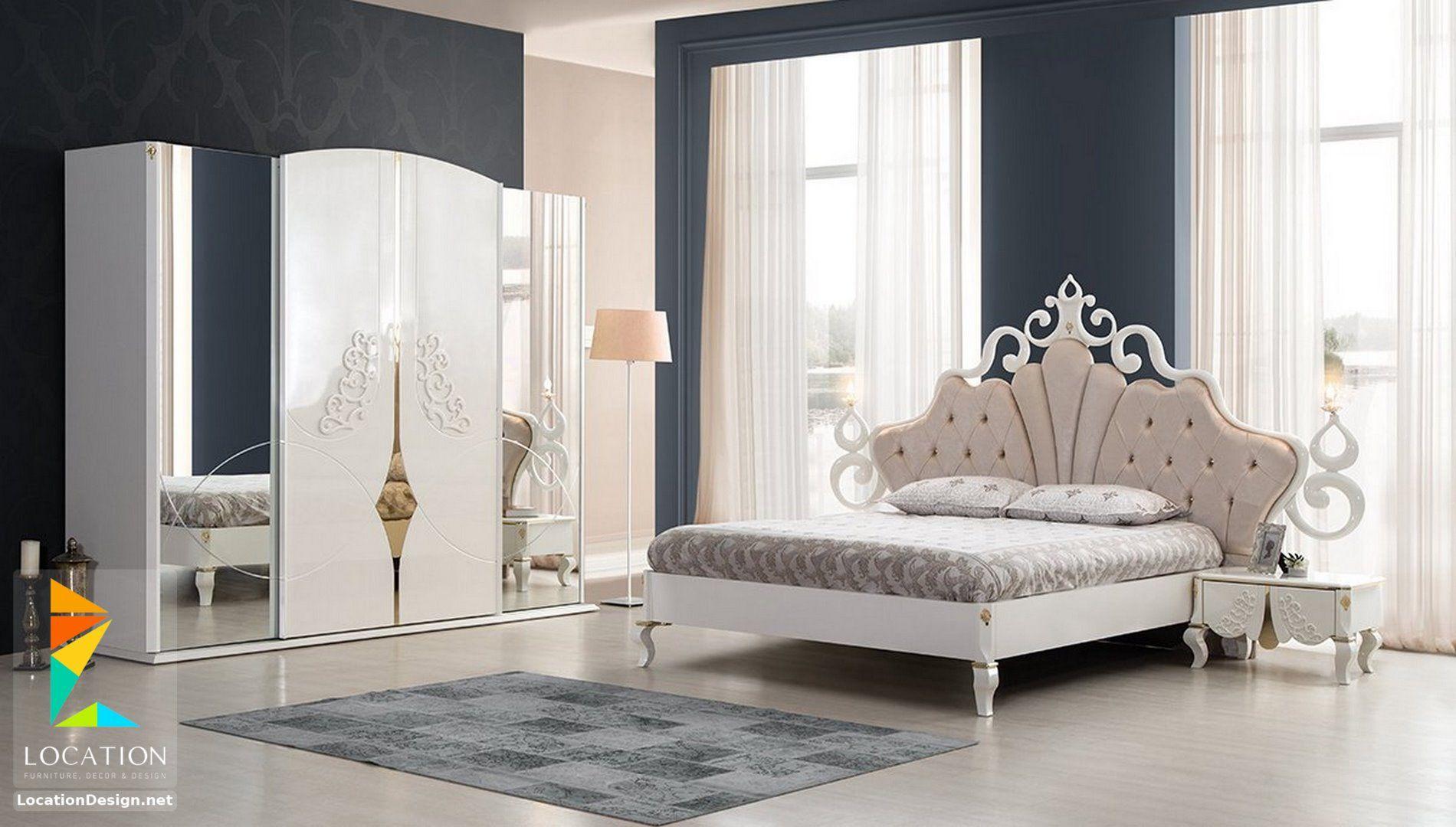 ديكورات غرف نوم حديثة على أحداث طراز 2019 2020 Bedroom Furniture Design Luxury Bedroom Design Master Bedrooms Decor
