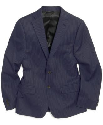 032729e9 Lauren Ralph Lauren Boys' Pinstripe Suit Blazer | groom, ring bearer ...