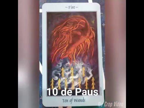 10 de Paus (Snapchat: @TAROTEANDO)