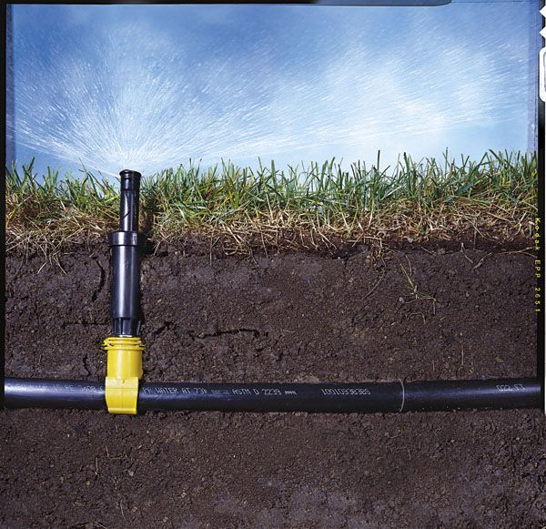 How To Install A Sprinkler System Installing An