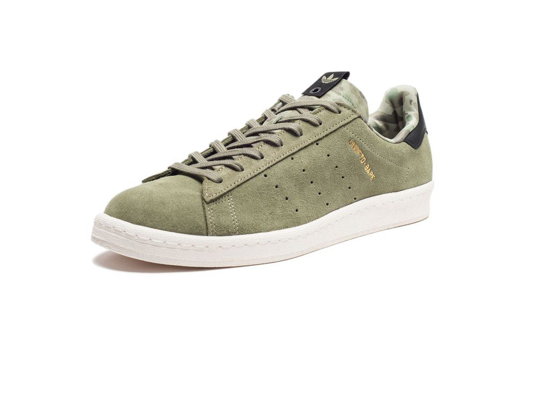 huge selection of e04d8 b7916 ... ADIDAS CAMPUS 80s UNDFTD x BAPE - OLIVE Undefeated, ...