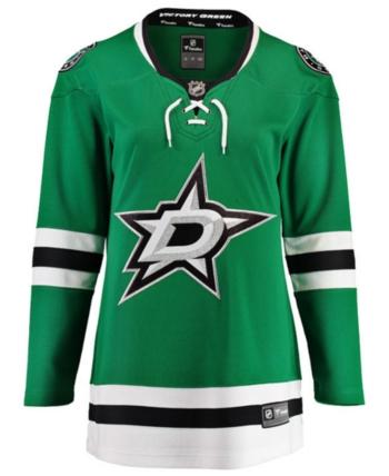 Fanatics Women s Dallas Stars Breakaway Jersey - Green XL 8ff8599647