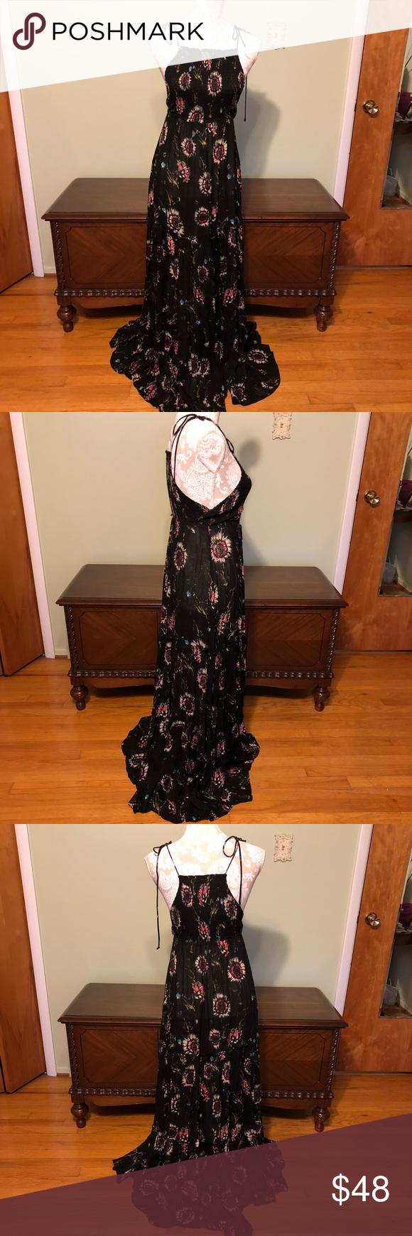 Free People Sunflower Smocked Maxi Dress Smocked Maxi Dresses Free People Maxi Dress Maxi Dress [ 1740 x 580 Pixel ]