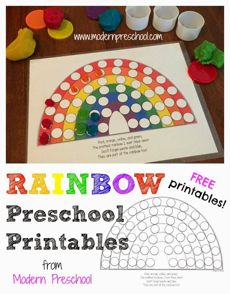 activity rainbow colors fill the pots of gold free printables preschool activities. Black Bedroom Furniture Sets. Home Design Ideas