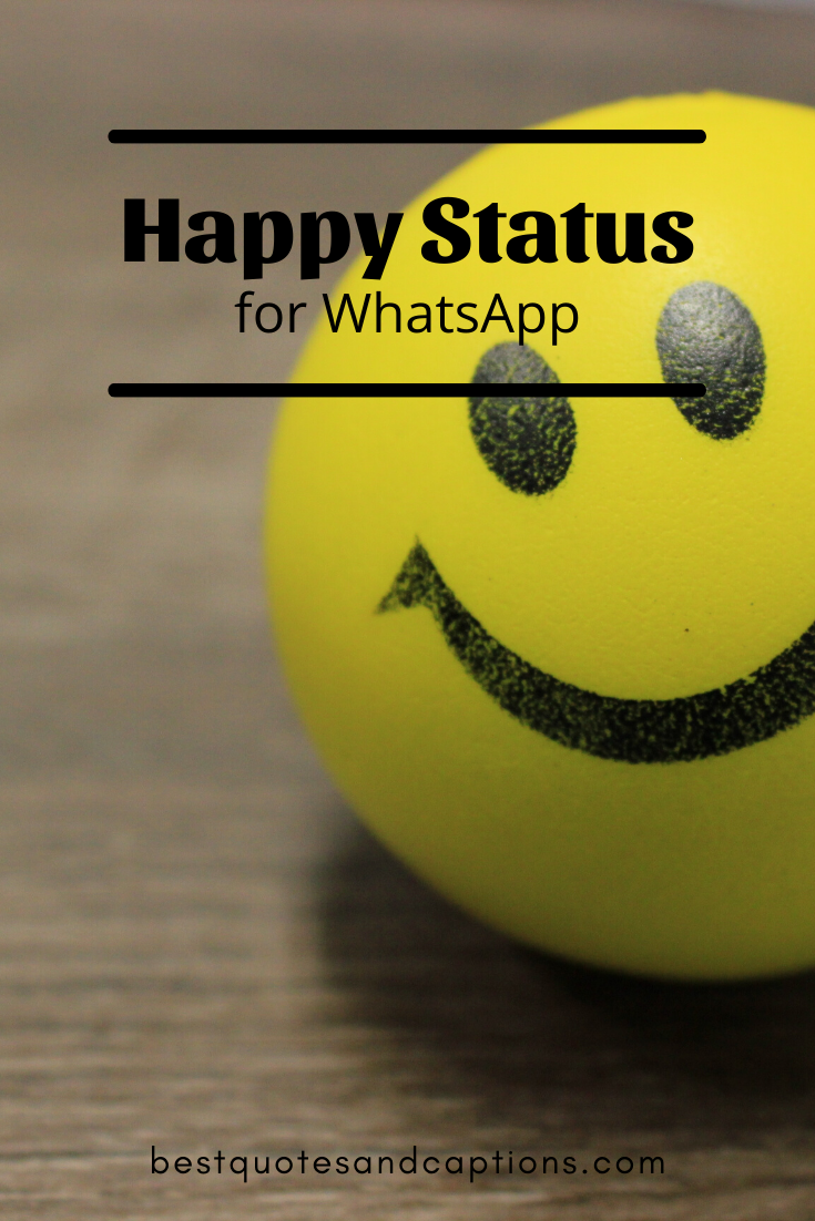 Happy Status In English For Life