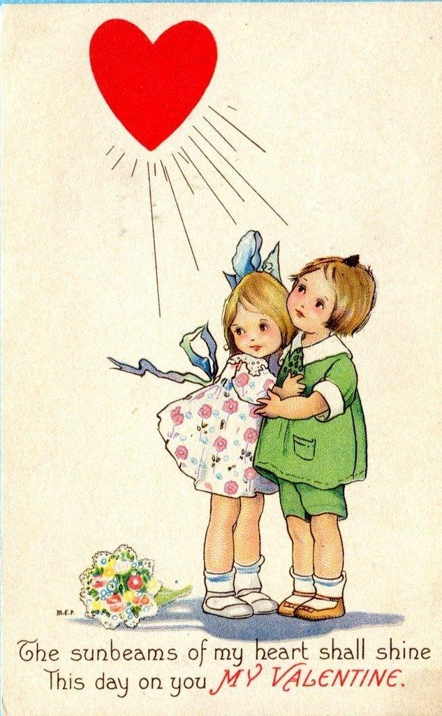 Margaret Evans Price vintage postcard, Valentine,   eBay