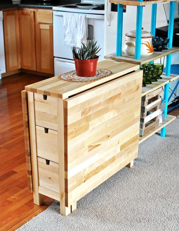 Platzsparender Esstisch von IKEA