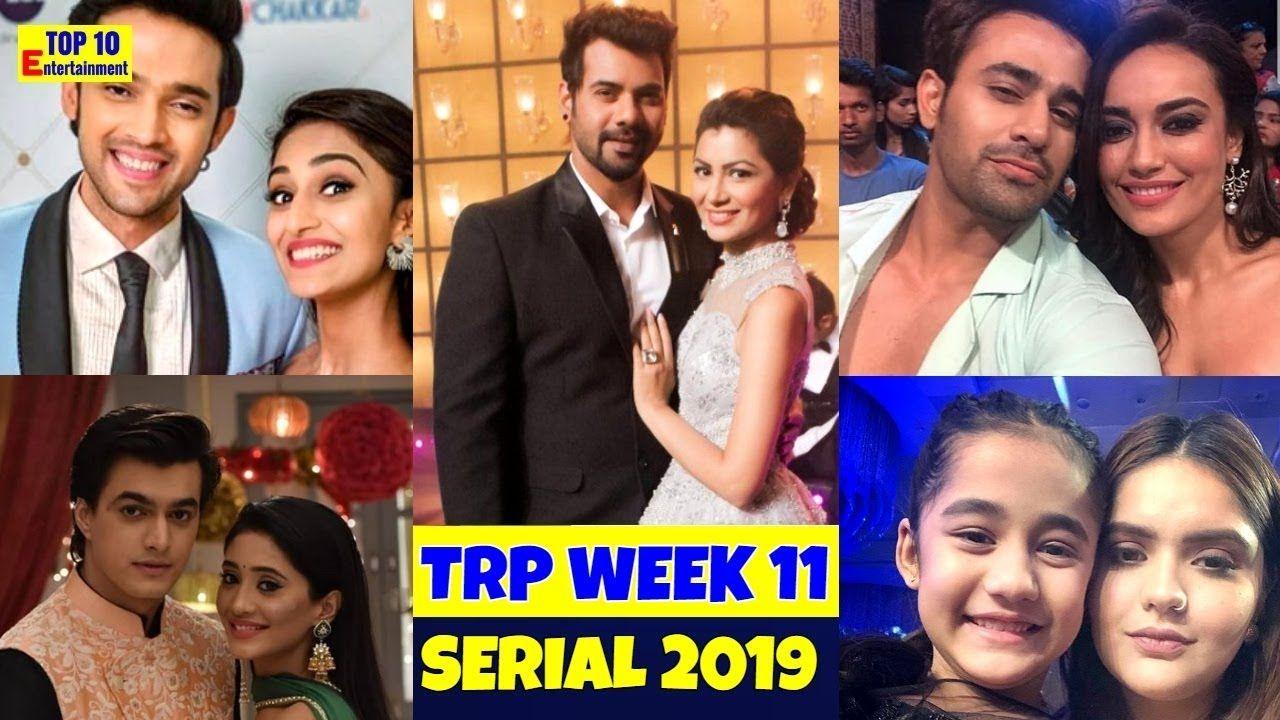 TRP ratings week 11 Indian hindi tv serial 2019 yrkkh Kumkum Bhagya