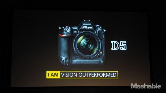 Nikon D5 DSLR records 4K video, D500 has 'always-on' smartphone connectivity - http://www.baindaily.com/?p=354626