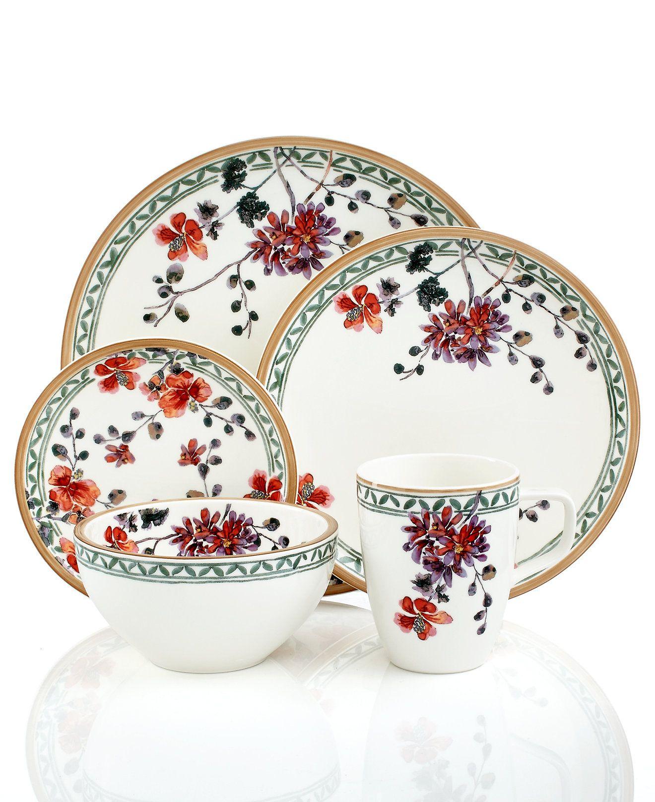 Artesano Provencal Verdure Collection Dinnerware Sets Green