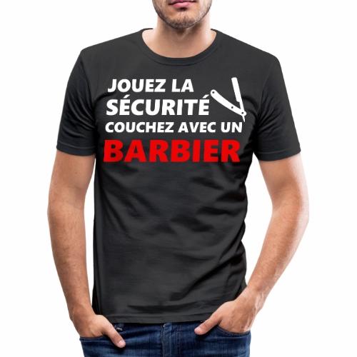 Jouez la sécurité couchez avec un Barbier Barbier