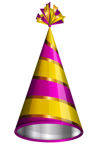 Birthday Party Hat Png Clipart Image Birthday Party Hats Happy Birthday Png Party Hats