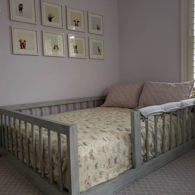 Eco Friendly Montessori Beds House Beds Floor Beds By Zipadeekids