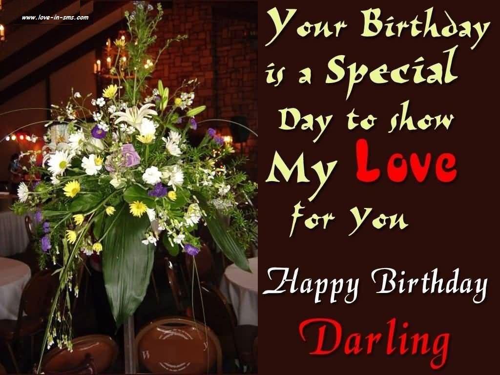 Happy Birthday Wishes To My Love Pinterest Happy Birthday